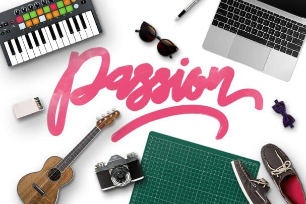 Download Passion Typeface font (typeface)