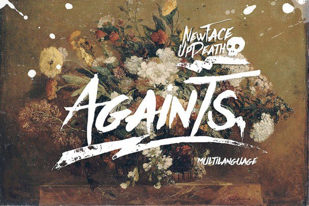 Download Againts Update Typeface font (typeface)