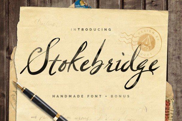 Download Stokebridge font (typeface)