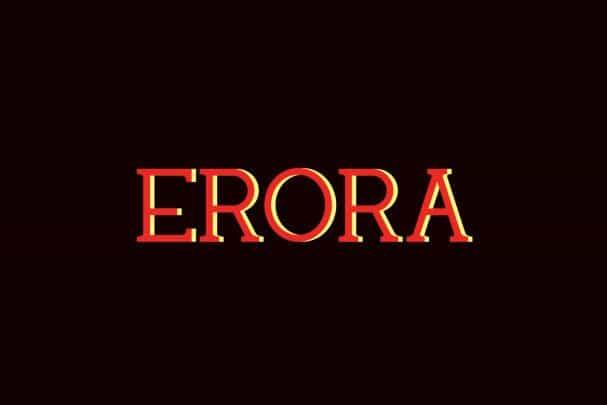 Download Erora font (typeface)