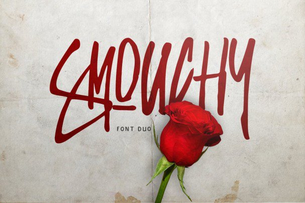 Download Smouchy font (typeface)