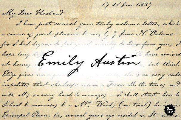 Download Emily Austin font (typeface)