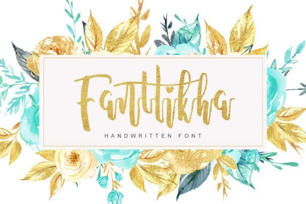 Download Fanttikha font (typeface)