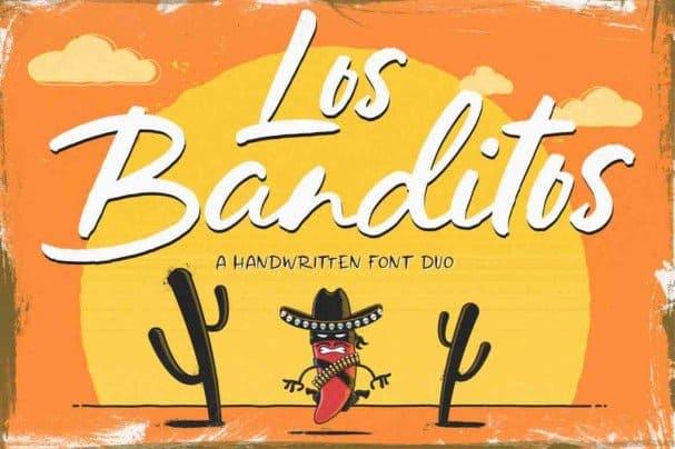 Download Los Banditos Duo font (typeface)