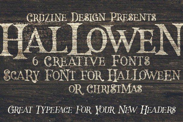 Download Hallowen Typeface font (typeface)