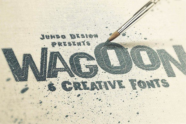 Download Wagoon - Funny Style Font font (typeface)