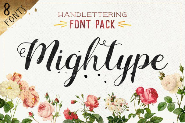 Download MIghtype FontPack font (typeface)