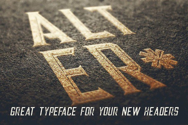 Download Alter - Vintage Style font (typeface)