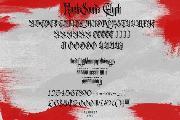 Download Rock Sands Typeface font (typeface)