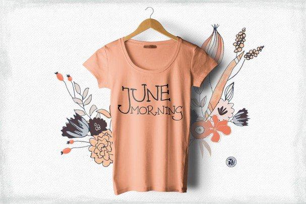 Download June Morning font (typeface)