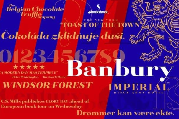 Download Banbury font (typeface)