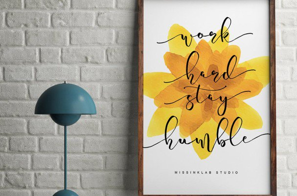 Download Banthei Laju Handwritten font (typeface)