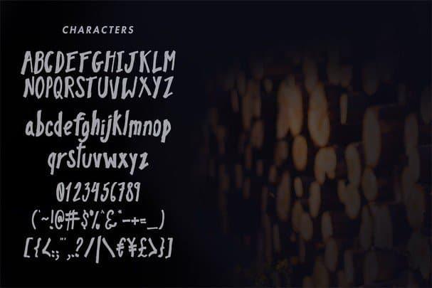 Download Pinebrick Typeface font (typeface)