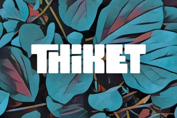Download Thiket Typeface font (typeface)