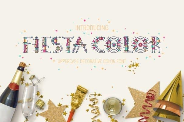 Download Fiesta Color Font font (typeface)