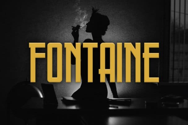 Download Fontaine Typeface font (typeface)