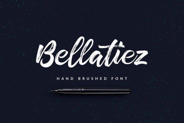 Download Bellatiez Script font (typeface)