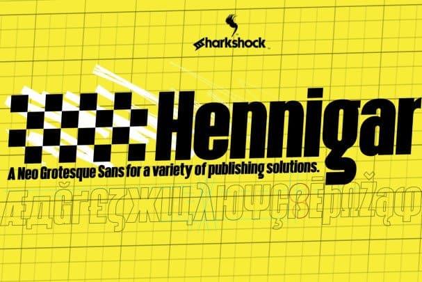 Download Hennigar font (typeface)