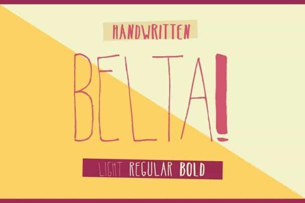 Download Belta font (typeface)
