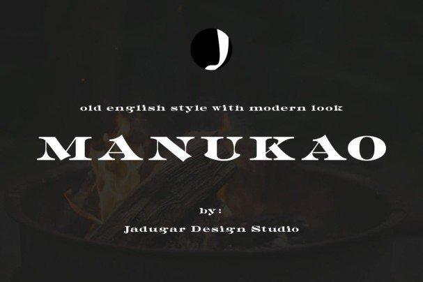 Download Manukao font (typeface)