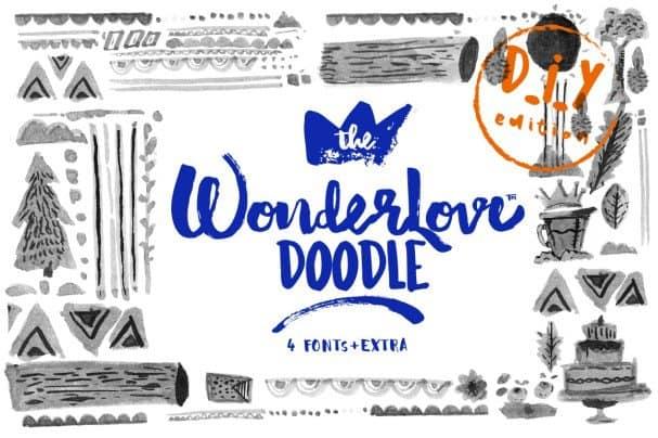 Download Wonderlove font (typeface)
