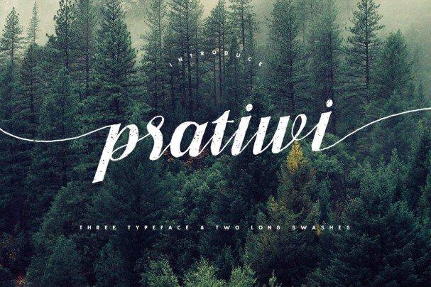 Download Pratiwi Typeface font (typeface)