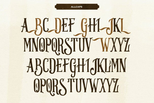 Download Strongwill Typeface font (typeface)