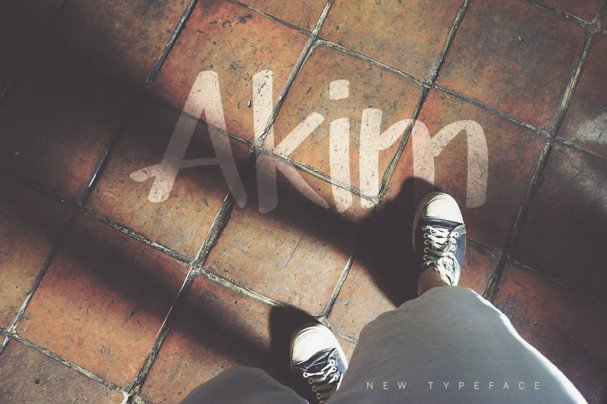 Download Akim Marker Typeface font (typeface)