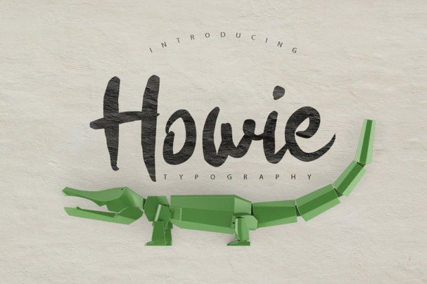 Download Howie Typeface font (typeface)