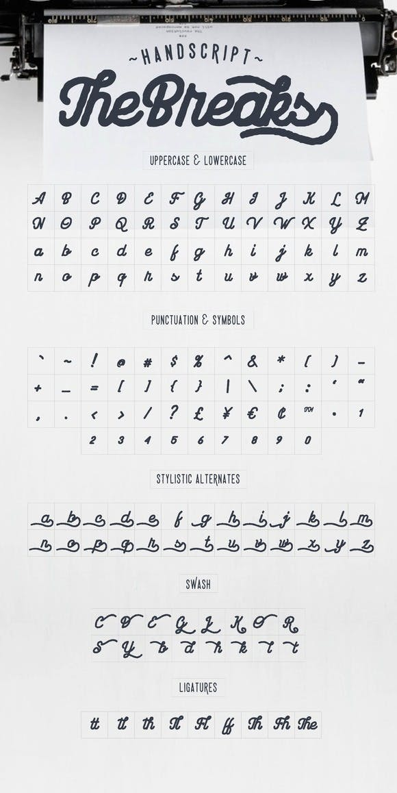 Download The Breaks font (typeface)