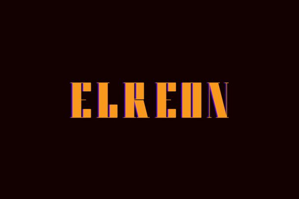 Download Elreon font (typeface)