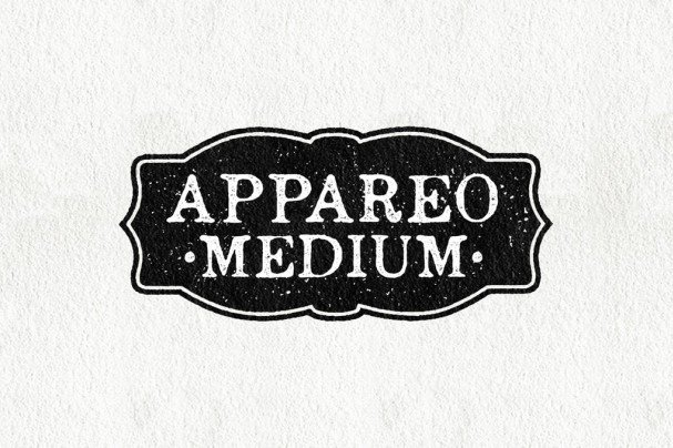 Download Appareo Medium font (typeface)
