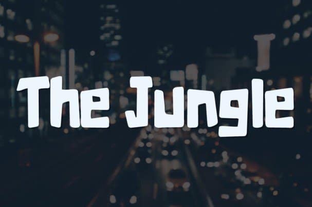 Download The Jungle Typeface font (typeface)