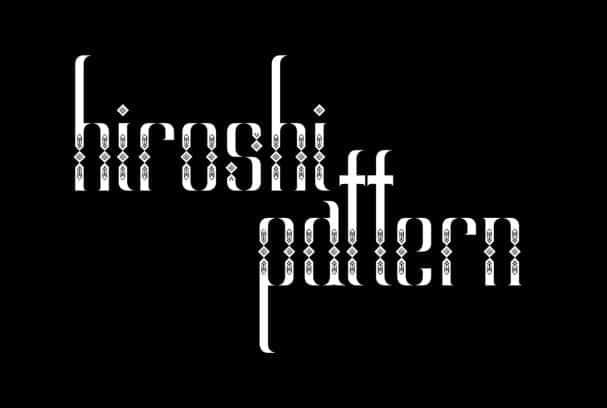 Download Hiroshi font (typeface)