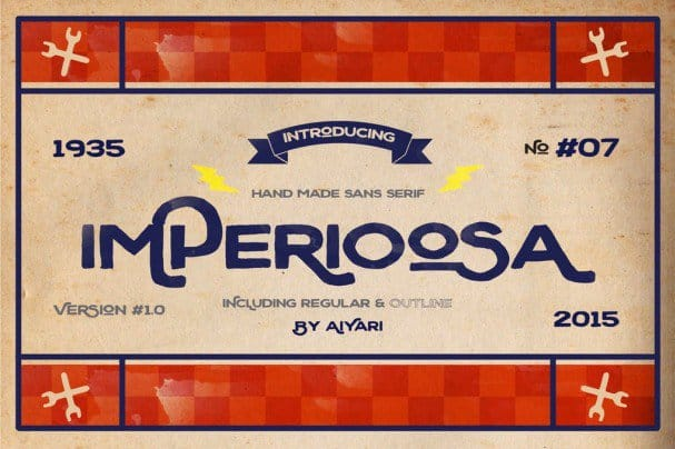 Download Imperioosa font (typeface)