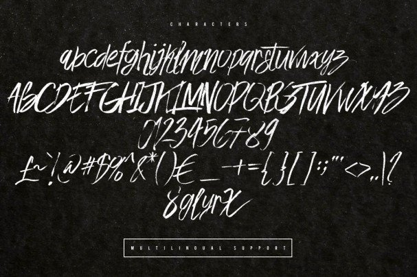 Download Easy Brush Font font (typeface)