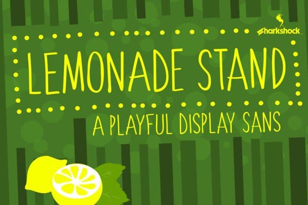 Download Lemonade Stand font (typeface)