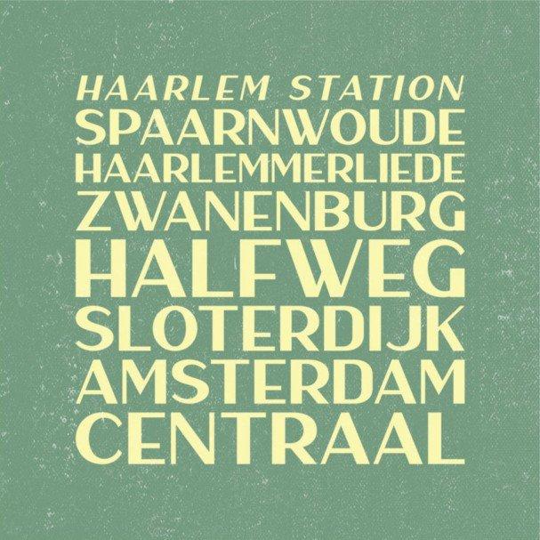 Download Haarlem Sans font (typeface)