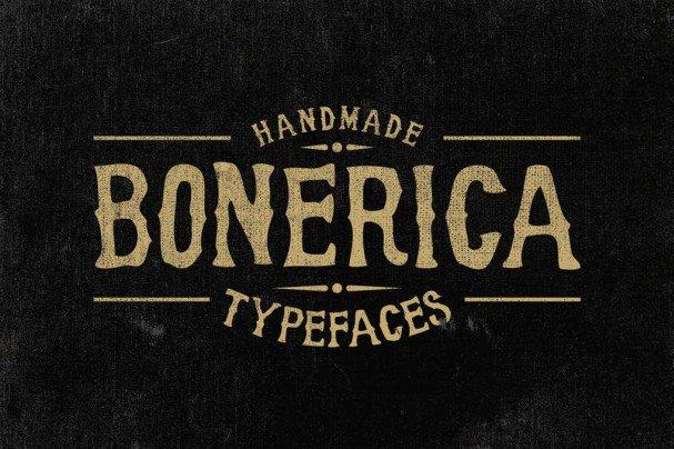 Download Bonerica Typeface font (typeface)