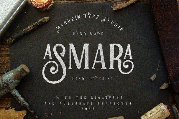Download Asmara Type font (typeface)
