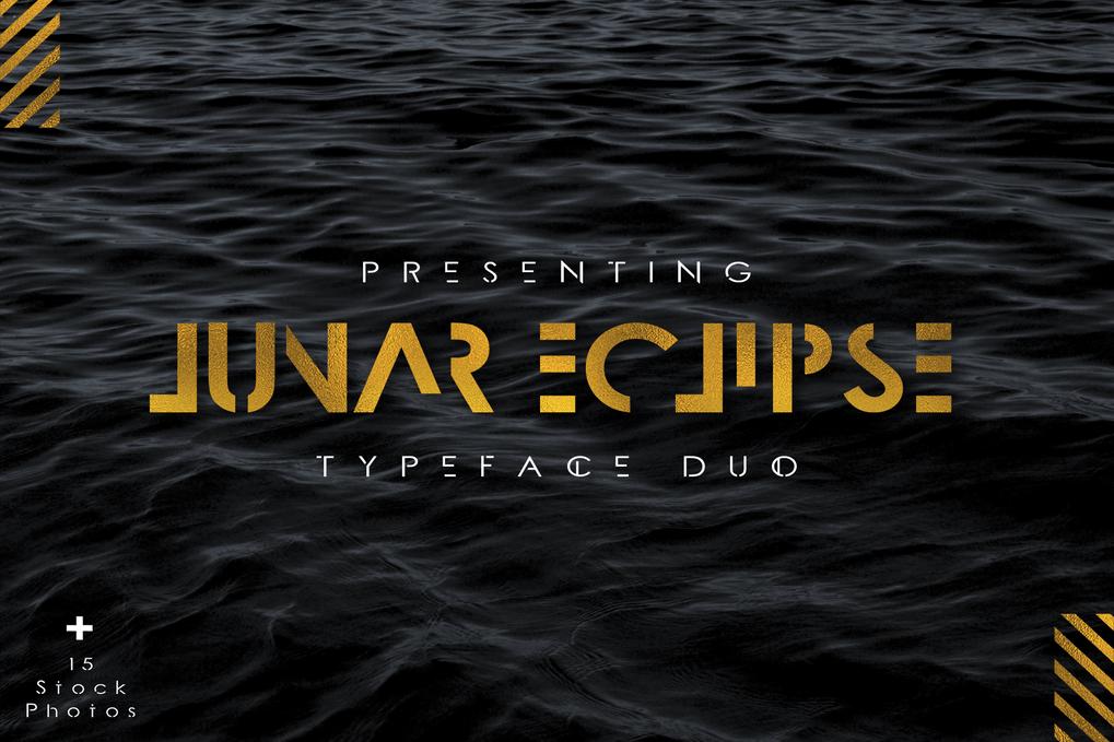 Download Lunar Eclipse font (typeface)