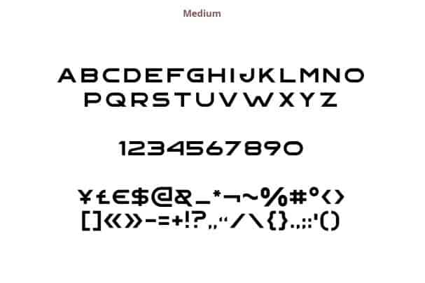Download Gempire font (typeface)