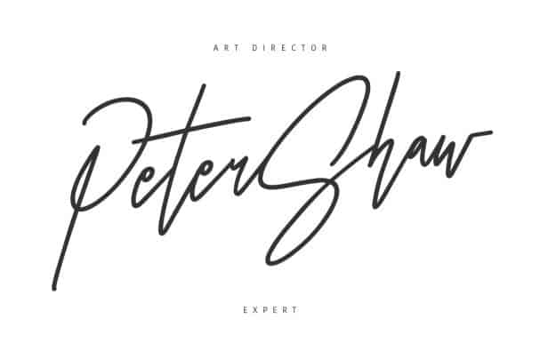 Download Otentic Signature Typeface font (typeface)