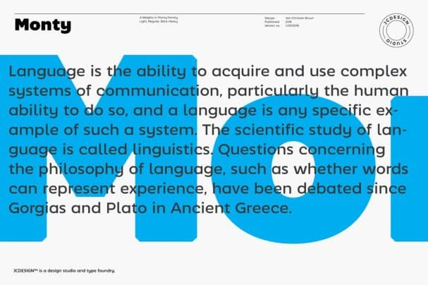 Download Monty font (typeface)