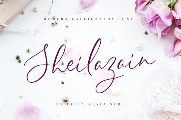 Download Sheilazain font (typeface)