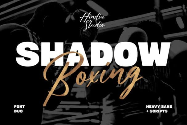 Download Shadow Boxing font (typeface)