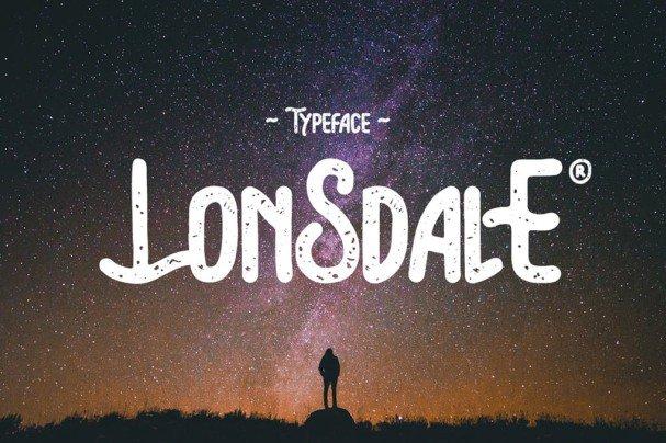 Download Lonsdale Typeface font (typeface)
