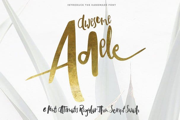 Download Adele typeface font (typeface)