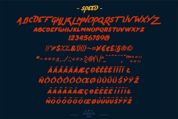Download Pumpkin's Brush font (typeface)