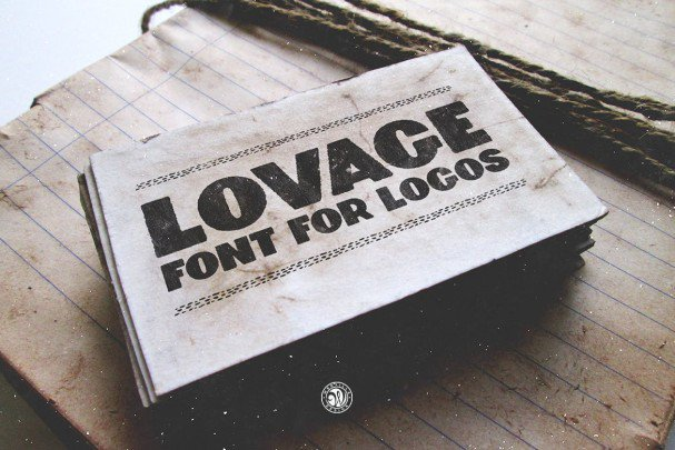 Download Lovage Font font (typeface)